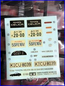 TAMIYA TOYOTA CELICA SS-II 1/24 Model Kit #11161