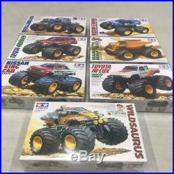 TAMIYA TOYOTA NISSAN wild seiries 7 set hi-lux king cab MODEL KIT NEW BOX