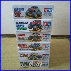 TAMIYA Wild Mini 4WD Nissan Terrano, KING CAB Jr, TOYOTA HI-LUX, WILDSAURUS etc