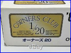 TOYOTA 84 CELICA XX 2800GT 1/20 owner club 20