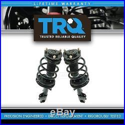 TRQ Front Complete Loaded Strut Spring Assembly Kit Pair for Highlander SUV