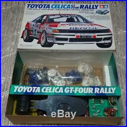 Tamiya 1/10 Toyota Celica GT-FOUR Rally Electric RC Model Car Rare