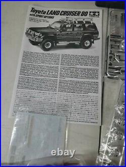 Tamiya 1/24 No. 122 Toyota Land Cruiser 80 With Sport Options