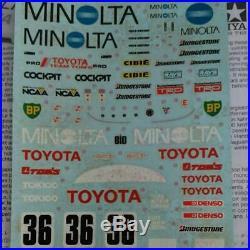 Tamiya 1/24 Set Toyota Minolta Sauber Mercedes Nissan