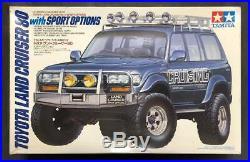 Tamiya 1/24 TOYOTA Toyota Land Cruiser 80 Sport Option Excellent