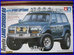 Tamiya 1/24 TOYOTA Toyota Land Cruiser 80 Sport Option From japan F/S