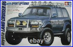 Tamiya 1/24 Toyota Land Cruiser 80 with Sport Options