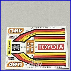 Tamiya 1/32 four wheel drive mini series No. 3 Toyota Hilux 4WD