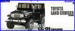 Tamiya 58564 Toyota Land Cruiser Black Body RC Kit + ESC + Stick Radio