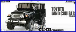 Tamiya 58564 Toyota Land Cruiser RC Kit DEAL BUNDLE with Twin STEERWHEEL