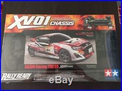 Tamiya 58573 GAZOO Racing TRD86 Toyota 86 XV-01 Rally Ready Chassis 1/10 scale R