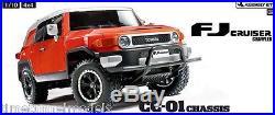 Tamiya 58588 Toyota FJ Cruiser RC Car Kit DEAL BUNDLE with Twin Stick Radio