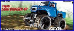 Tamiya 58589 Toyota Land Cruiser 40 Wheelie 4WD RC Car Kit (CAR WITHOUT ESC)