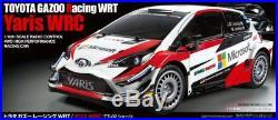Tamiya 58659 Toyota Gazoo Racing WRT TT02 RC Kit DEAL BUNDLE with STEERWHEEL Radio
