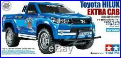 Tamiya 58663 RC Toyota Hilux Extra Cab (CC-01) 110 Model Kit