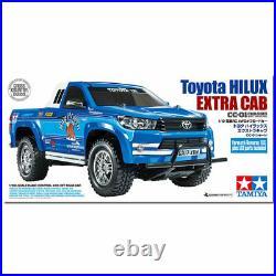 Tamiya 58663 Toyota Hilux Extra Cab CC-01 4WD RC Car Kit (WITH ESC)