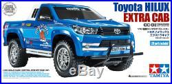 Tamiya 58663 Toyota Hilux Extra Cab CC-01 4WD RC Kit + ESC + Stick Radio