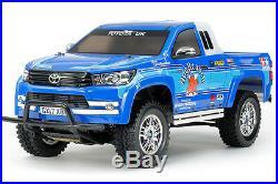 Tamiya 58663 Toyota Hilux Extra Cab CC01 RC Kit DEAL BUNDLE withSTEERWHEEL RADIO