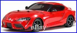 Tamiya 58674 Toyota GR Supra RC Kit DEAL BUNDLE with STEERWHEEL Radio