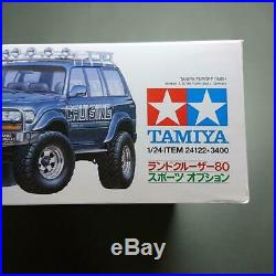 Tamiya TOYOTA Land Cruiser 80 1/24 Scale Sport Option Model