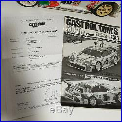 Tamiya Tom's Castrol Toyota Supra TL-01 4WD 2000 Model (Ready to Run)