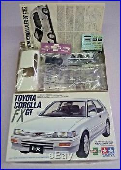Tamiya Toyota Corolla Fx-gt Rare 1/24 Model Kit(esci, Revell, Fujimi)