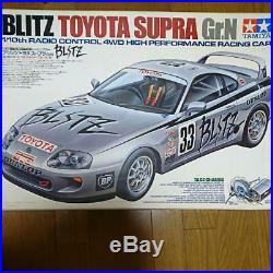 Tamiya Toyota Supra Gr. N 1/10 Model Kit Japan Rc Car Radio Control Racing F/s