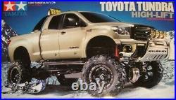 Tamiya Toyota Tundra High Lift 58415 RC Model Kit Scale 110