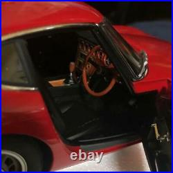 Toyota 2000gt Model Car Rare Collectible Diecast Red Autoart 1/18 Rare Hobby