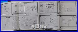 Toyota 7 1/24 Otaki Model Kit