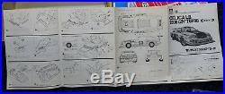 Toyota Celica Lb 2000 Gtv Turbo Racing 1/20 Aoshima Vintage Model Kit