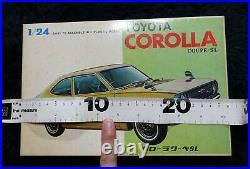 Toyota Corolla Coupe Sl 1/24 Koga Vintage Model Kit