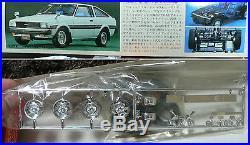 Toyota Corolla Te71 Levin 1/20 Bandai Model Kit