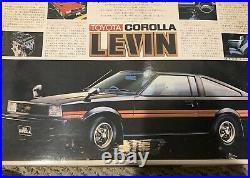 Toyota Corolla levin Liftback 1/20 scale model kit