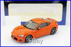 Toyota Gt 86 Limited Asian Version Rhd Orange 118 Autoart