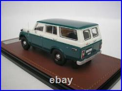 Toyota Land Cruiser FJ55 1978 Green White 1/43 GLM 300404