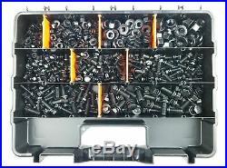 Toyota Landcruiser Nut & Bolt Kit Fj40-hj 200 Fj, Hzj All Models In Black Zinc