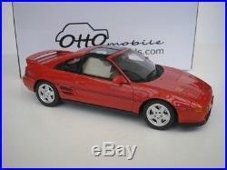 Toyota MR2 MR 2 SW20 SW 20 1992 Red 1/18 Otto Mobile OT234 NEW
