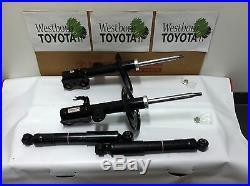 Toyota Rav4 2009-2012 New OEM Base & Limited Model Front Struts & Rear Shocks