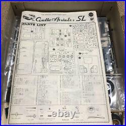 Toyota SPRINTER SL Japanese Plastic Model Kits 120 Nichimo Vintage Very Rare