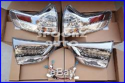 Toyota Sienna L Le Xle Limited To Se Model Taillight Led Lamps Conversion Kit