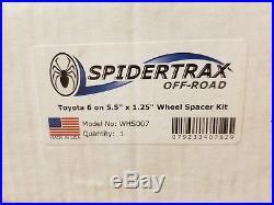 Toyota Spidertrax 6 on 5.5 Wheel Spacer Kit Model# WHS007 (2 Kits)