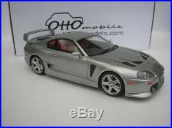 Toyota Supra 3000 Gt Trd 1998 Silver 1/18 Otto Mobile OT303 New