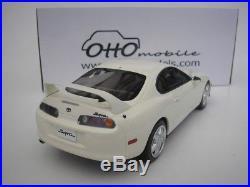 Toyota Supra MK4 MK 4 1993 2000 White 1/18 Otto Mobile ot236 NEW
