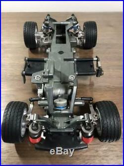 Toyota Te27 Sprinter Trueno Green Aluminum Parts Tamiya Toy Car F/s From Japan