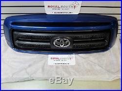 Toyota Tundra Blue Streak Metallic 8T7 Grille Genuine OE OEM