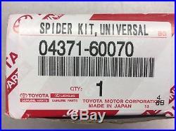 Toyota U-Joint Spider Kit Set Genuine OEM OE 04371-60070 (Fit's Many Models)
