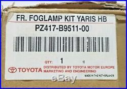 Toyota Yaris Front Fog Light Kit Fits 3 Door 5 Door Models 1999 to 2003