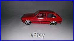 Toyota starlet 1 24 scale plastic model car