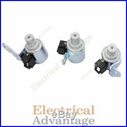 U340E U341E Shift Solenoid Set SL1 SL2 SL3 Toyota Numerous Models NEW 3 Pc Kit